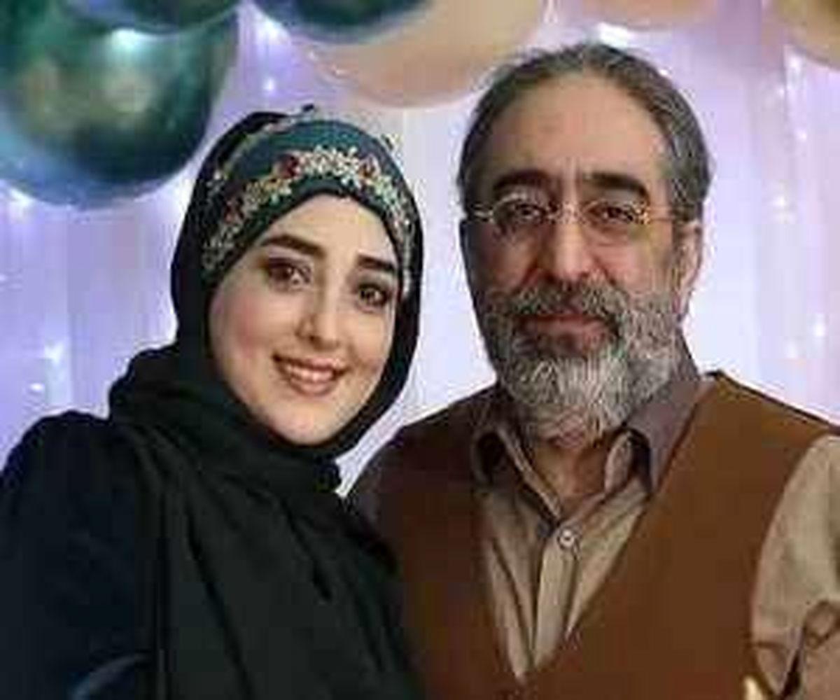 اختلاف سنی مجری معروف تلوزیون با همسرش جنجالی شد + عکس عاشقانه
