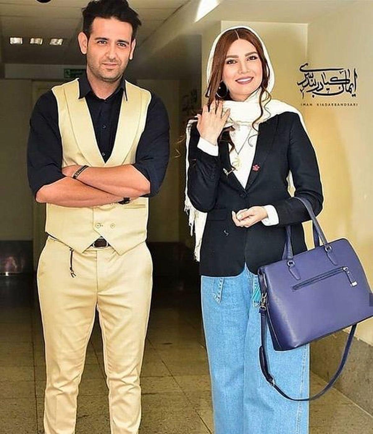 امیرحسین آرمان در ماشین لاکچری + عکس