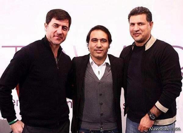 کریم باقری و علی دایی