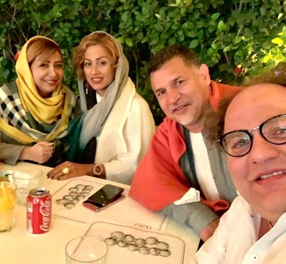 اختلاف سنی علی دایی و همسر دومش + عکس