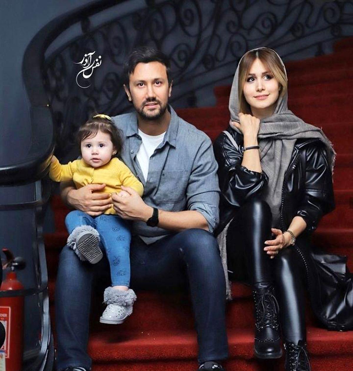 بیوگرافی همسر شاهرخ استخری سپیده بزمی پور+ تصاویر خانوادگی