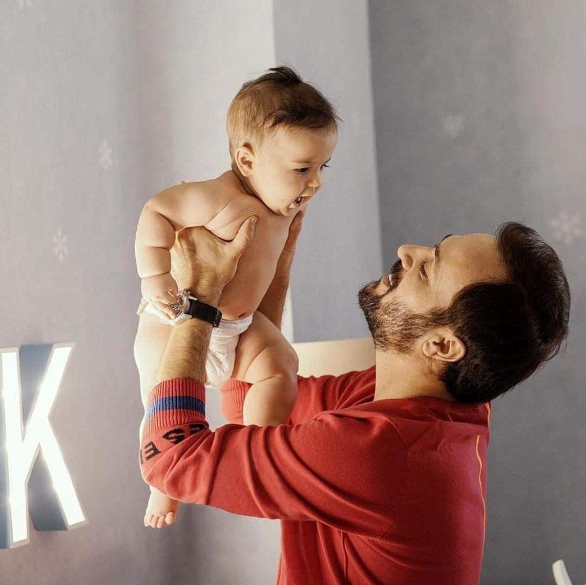 بازیگر معروف پایتخت از پسرش رونمایی کرد + عکس