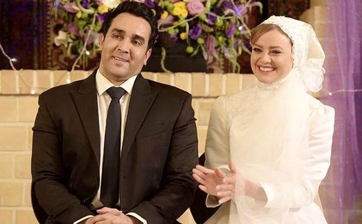مراسم ازدواج لاکچری پوریا پورسرخ و همسرش + عکس لورفته
